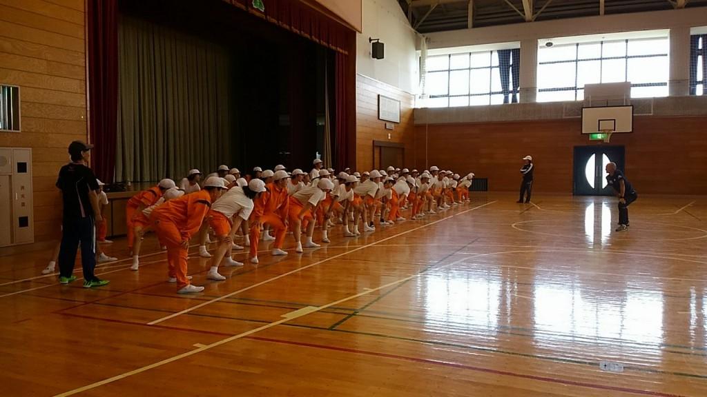 オリンピック日本代表の授業